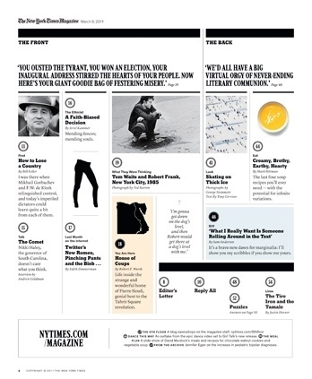 New York Times Magazine « Studio8 Design #grid #layout #design