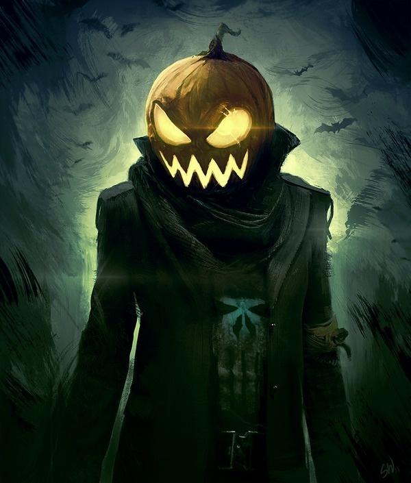 Halloween by Simon Weaner on deviantART #halloween #pumpkin #design #art #character