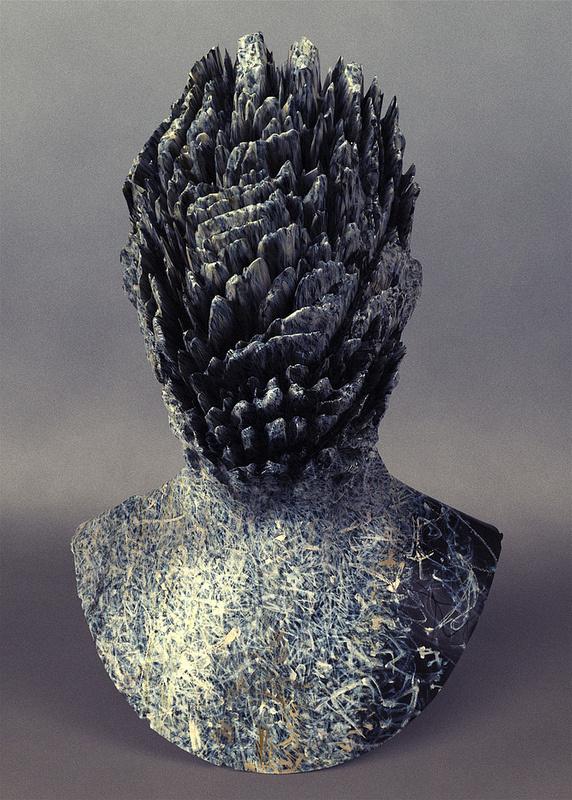 Jon Rafman #bust #sculpture #3d