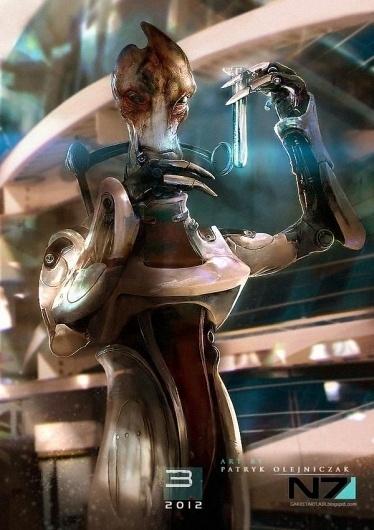 Mass Effect 3 Characters by Patryk Garrett | Cuded #effect #3 #garrett #mass #characters #patryk
