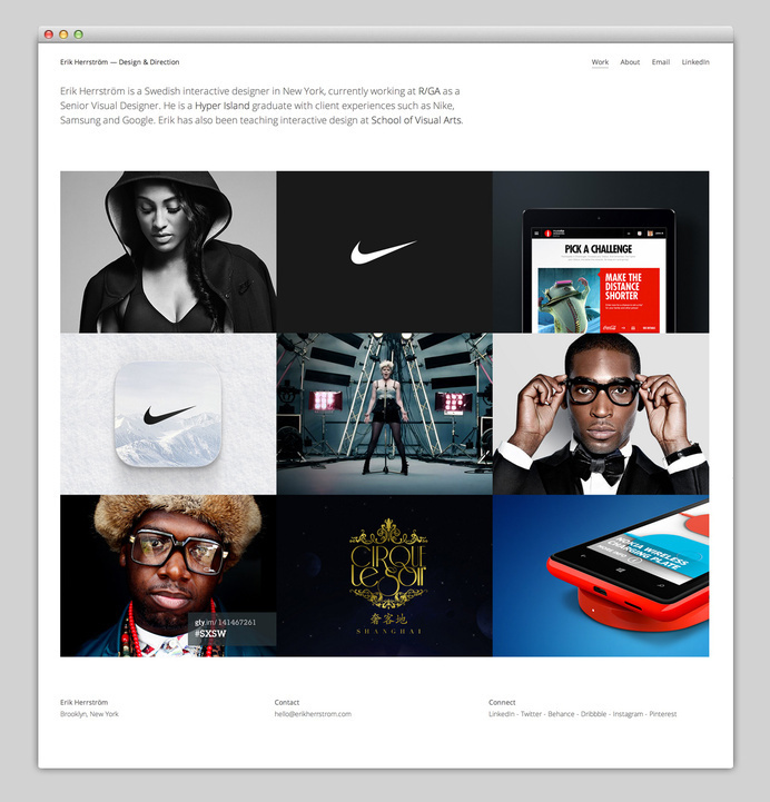 Websites We Love — Showcasing The Best in Web Design #agency #director #design #best #website #ui #nike #minimal #webdesign #art #web #typography