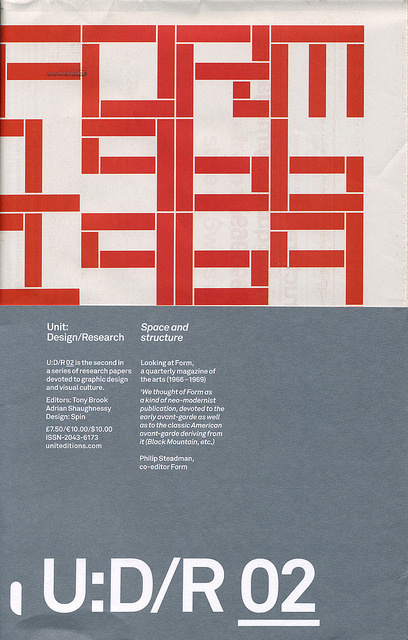 Unit: Design/Research: Issue 02, Space and Structure | Flickr - Photo Sharing! #dfh
