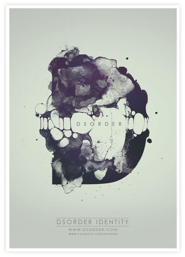 DSORDER IDENTITY on Behance #inspiration #identity #poster