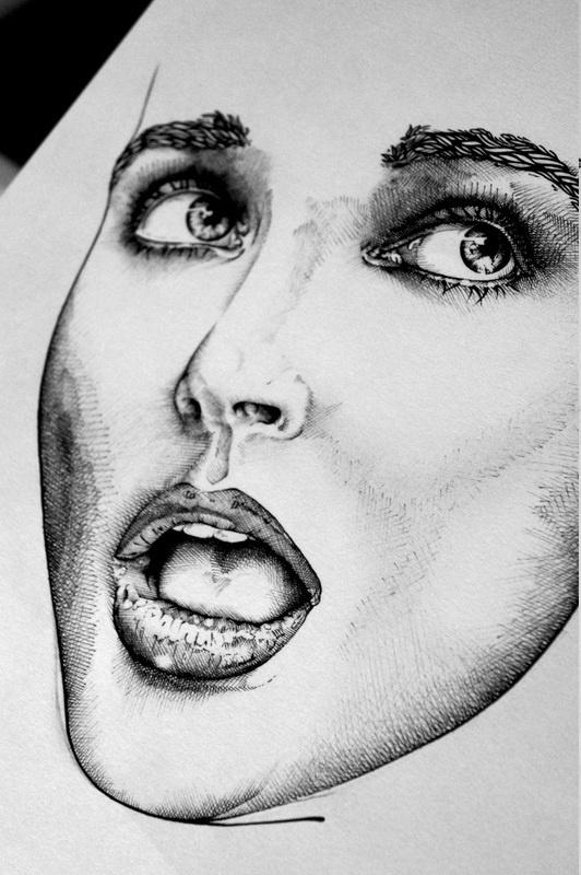 Kate Bush editorial - gregcoulton.com #illustration #portrait #pen