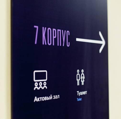 Wayfinding   Signage   Sign   Design   俄罗斯国立人文大学