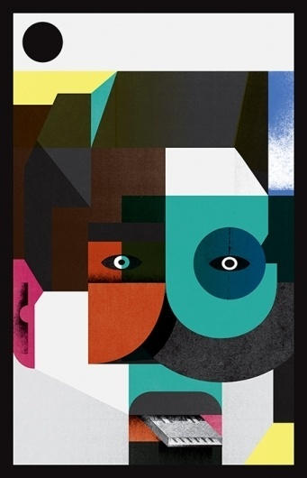 Martin Nicolausson : Self portrait #illustration #martin #nicolausson