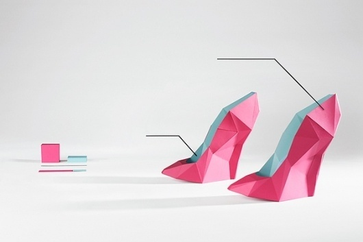 Data and Design on the Behance Network #infographic #origami #art