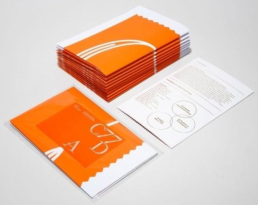 Studio Lin — High-res Special   September Industry #orange #lin #studio #type #core77 #brochure