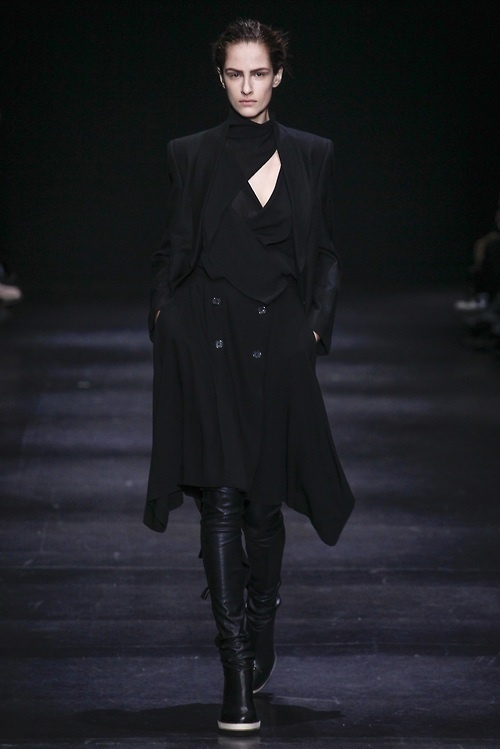 Ann Demeulemeester f/w 2014 #fashion #fall #2014