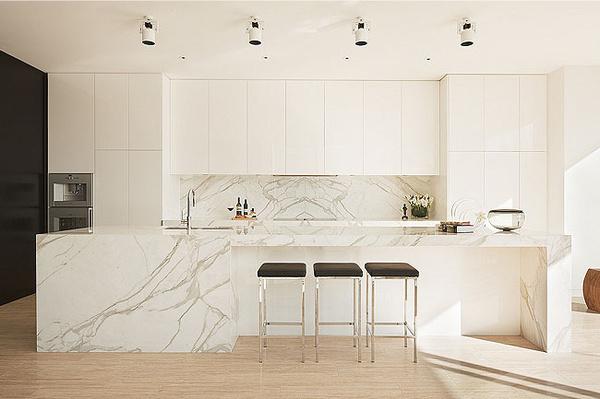 The Design Chaser: Homes to Inspire | Majestic in Melbourne #interior #design #decor #kitchen #marble #deco #decoration
