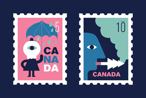 Maxime Francout on grainedit.com #canada #montreal #design #illustration #vintage