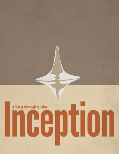 Inception Minimalist Poster by ~digitroy on deviantART #poster #inception