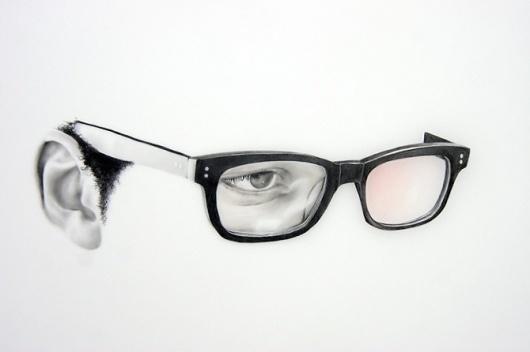 langdongraves.com #glasses #eye #illustration #face