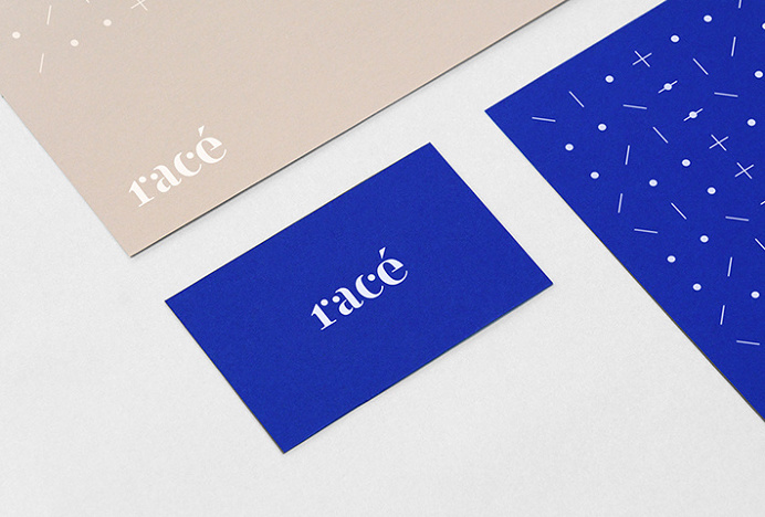 Racé by Studio Weidemüller #logo #business card #graphic design #print #stationary