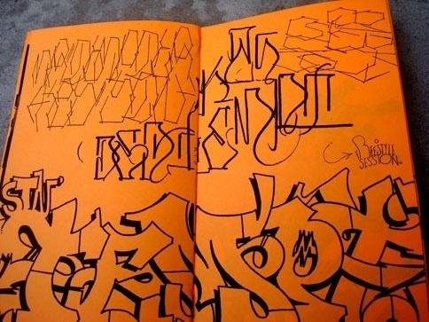 eyeone | seeking heaven #tempt #zine #graffiti #design #handstyles #one #typography