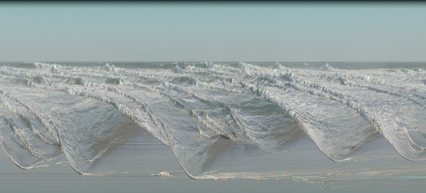 los osos (compressed time waves series) Jay Mark Johnson. #camera #time #wave