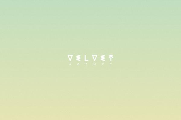 Velvet Agency Brand Identity System on Branding Served #colour