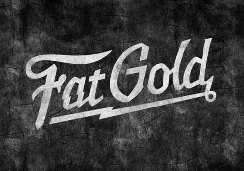 Fat Gold - In Noise We Trust #fat #type #vintage #gold