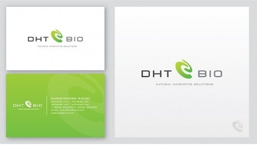 DHT-Bio – Graphic Design | UK Logo Design #cards #business