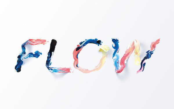 Typeverything: Photo #color #paint #sawdust #splash #3d #typography