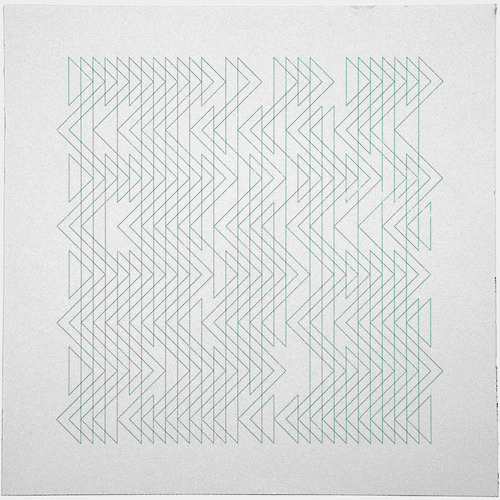 #402 Shoal x ray – A new minimal geometric composition each day