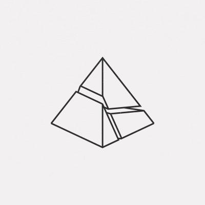 DAILYMINIMAL: #FE16-488 A new geometric design every day