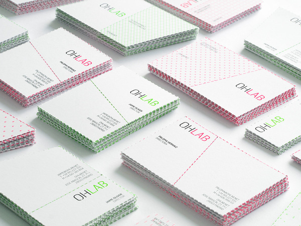 OHLAB bcards 027 #corporate #identity #cards #business