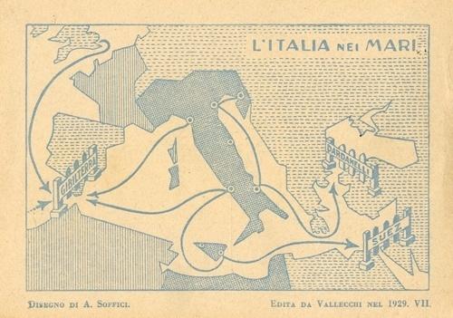 1321545240579_immagine5-ardengosofficilitalianeimari1929.jpg 500×351 pixels #illustration #retro #vintage #map