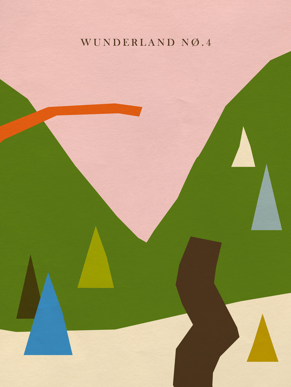 Wunderland Nø.4The Wunderland mini series is an experimental collage project depicting Alpine landscapes in an abstract and minimalistic ma #n4