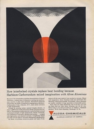 ALCOA Ad | Flickr - Photo Sharing! #tech #page #graphic #illustration #vintage #modernism