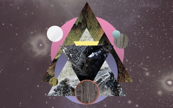 Avracadavra on the Behance Network #pogo #geometry #avracadavra #space #mystical #collage