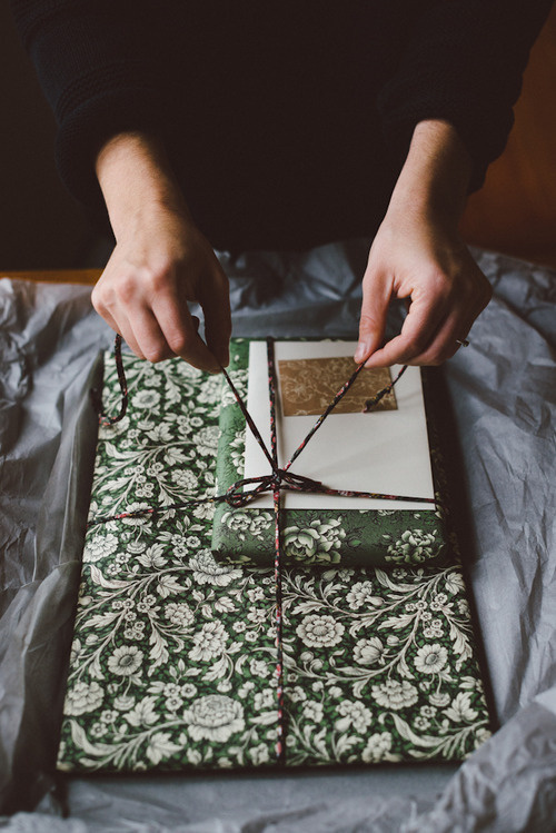 Lovely Life #pattern #floral #wrapping #paper #package
