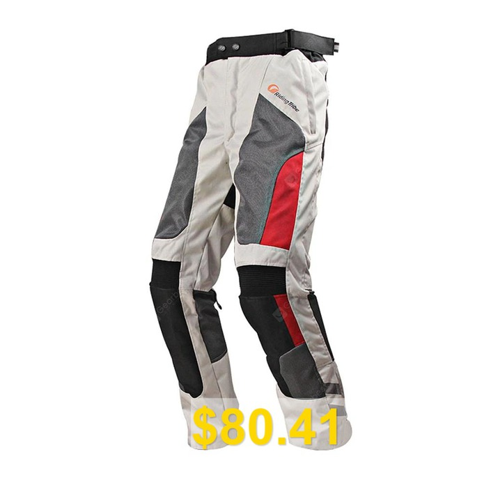 RidingTribe #Motorcycle #Racing #Off-road #Pants #- #WHITE