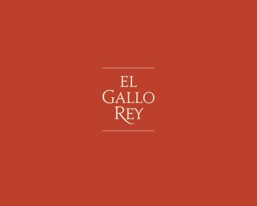 El Gallo Rey - Oscar Morris #logotype #morris #gallo #oscar #classic #rey #lockup