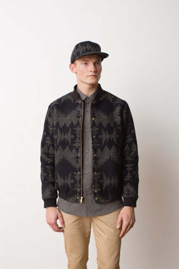 The Portland Collection by Pendleton Fall 2013 Collection Lookbook #pendleton #pattern #apparel #2013 #fall #fashion