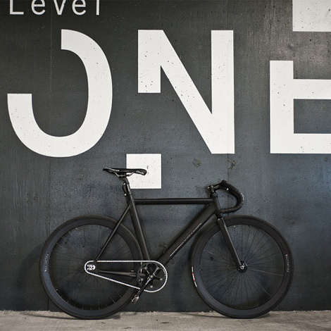 I am mr cup (www.mr cup.com) #fixie #white #bicycle #black #clean #simple