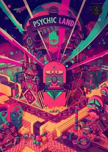 Psychic Land by 2veinte   123 Inspiration #animation #2veinte #argentina #motion #land #studio #buenos #psychic #aires