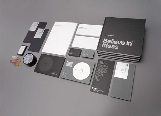 allinthe.name | Identity design and inspiration #believe #design #identity #stationery
