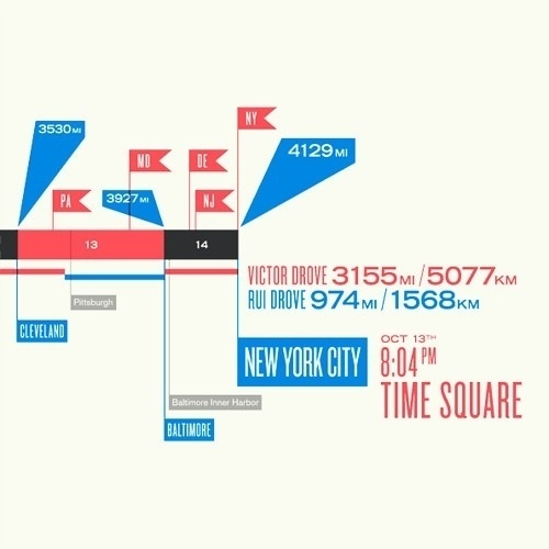 LA×NYC Map Detail / Papercut picture on VisualizeUs #infographic #cities #map