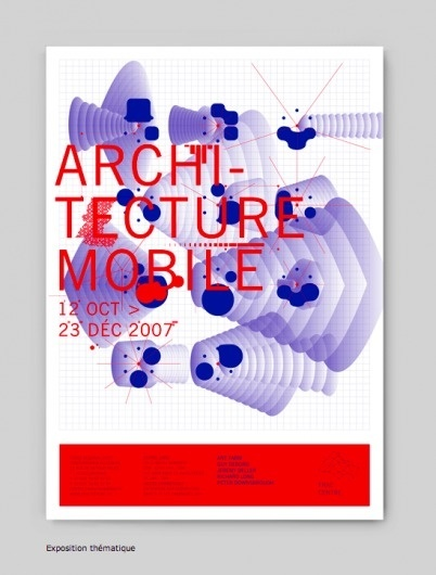 Atelier Müesli – Design graphique / Bench.li #blue #design #architecture #red