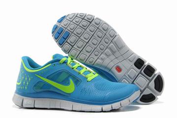 Nike Free Run 3 Photo Blue Volt-Womens #fashion