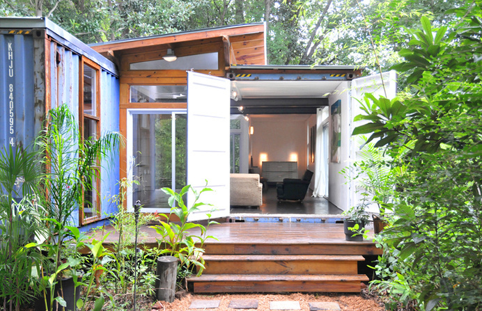 Shipping Container Homes #home