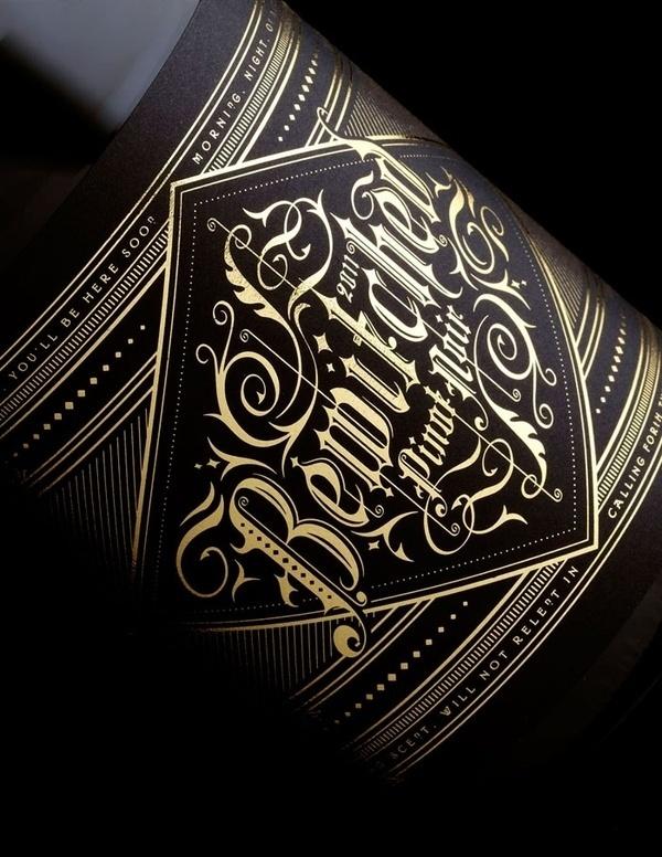 Jeremy Pruitt (thinkmule) on Pinterest #packaging #type