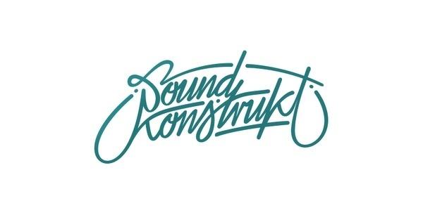 Soundkonstrukt #letters #branding #handwriting #handwrite #logo #typo
