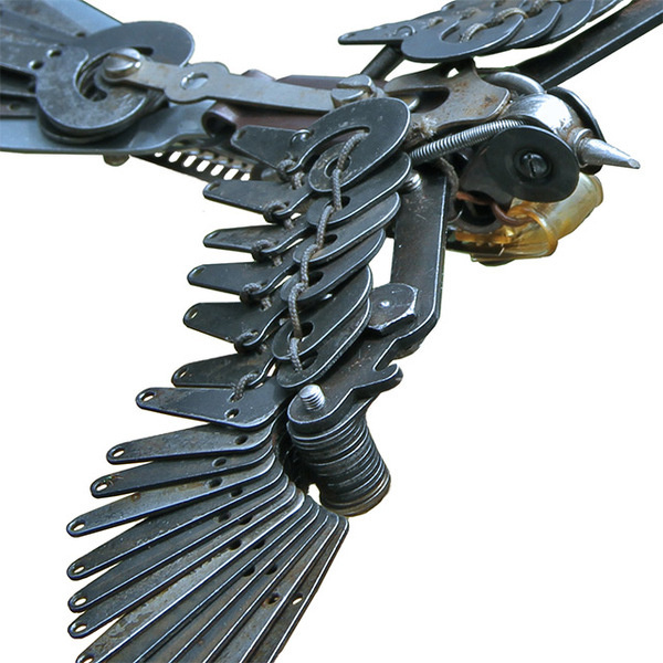 New Typewriter Part Birds by Jeremy Mayer #sculpture #typewriter #bird #metal #metallic