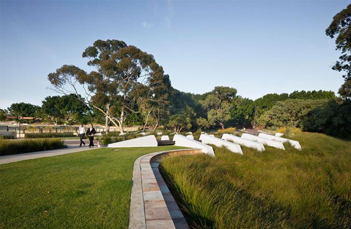 Sensitive Design of a Parkland
