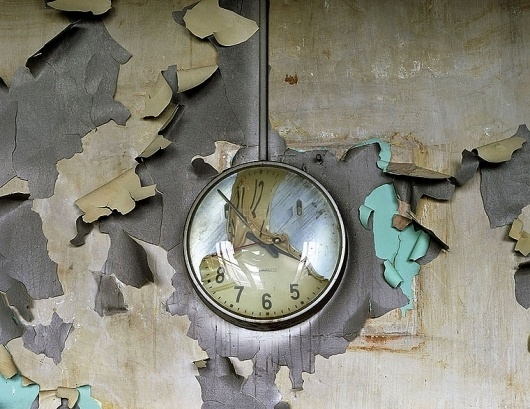 Yves Marchand & Romain Meffre Photography - The Ruins of Detroit #detroit #cass #school #decay #ruins #time #clock #technical #high