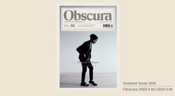 OBSCURA MAGAZINE #design #pub #magazine #obscura