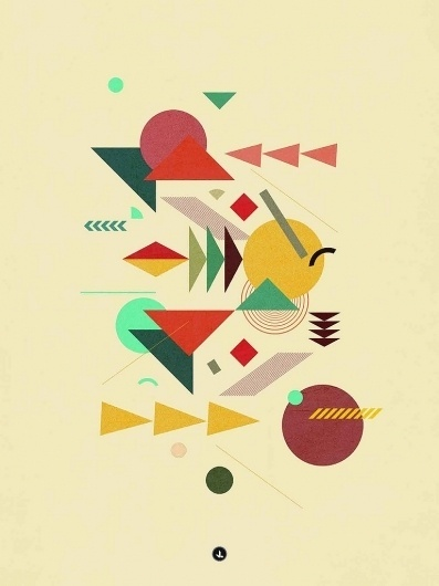The Portfolio of Jean Belmonte | Daily Inspiration #illustration #shapes