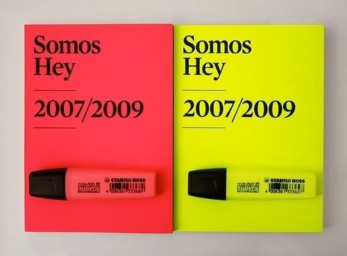All sizes | Book Hey | Flickr - Photo Sharing! #design #graphic #stabilo